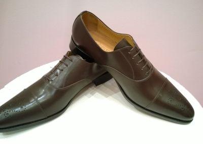 9295 marron - Chaussures personnalisables en cuir - Caralys Nice - Alpes Maritimes (06)