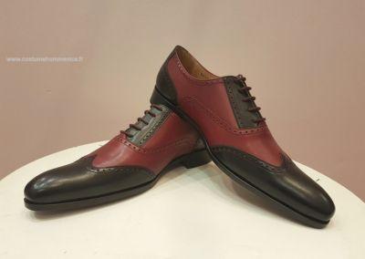 9417 bordeaux - Chaussures personnalisables en cuir - Caralys Nice - Alpes Maritimes (06)