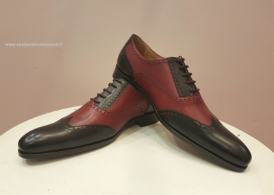 9417 bordeaux - Chaussures personnalisables en cuir - Caralys Nice - Alpes Maritimes (06)Chaussures personnalisables en cuir - Caralys Nice - Alpes Maritimes (06)