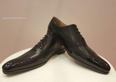 9417 noir verni - Chaussures personnalisables en cuir - Caralys Nice - Alpes Maritimes (06)