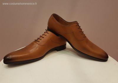 9679-miel - Chaussures personnalisables en cuir - Caralys Nice - Alpes Maritimes (06)
