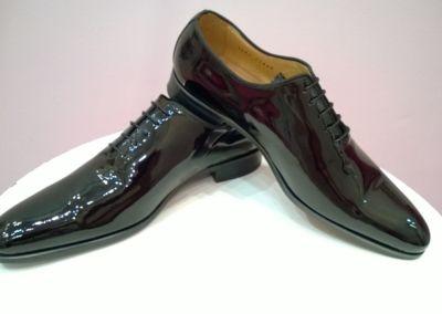 9680 vernis noir - Chaussures personnalisables en cuir - Caralys Nice - Alpes Maritimes (06)
