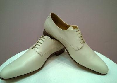 9685 ivoire - Chaussures personnalisables en cuir - Caralys Nice - Alpes Maritimes (06)