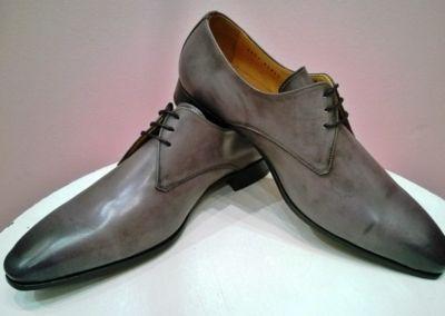 9827 gris clair - Chaussures personnalisables en cuir - Caralys Nice - Alpes Maritimes (06)