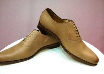 9828 beige - Chaussures personnalisables en cuir - Caralys Nice - Alpes Maritimes (06)