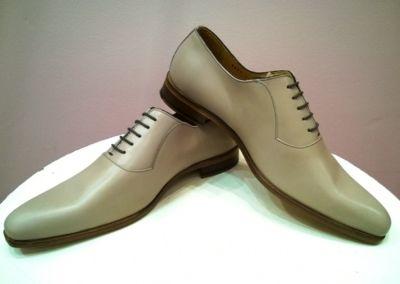 9828 gris clair - Chaussures personnalisables en cuir - Caralys Nice - Alpes Maritimes (06)