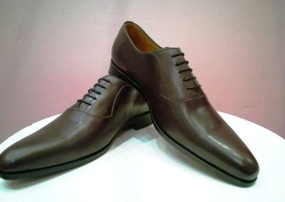 9828 marron foncé - Chaussures personnalisables en cuir - Caralys Nice - Alpes Maritimes (06)
