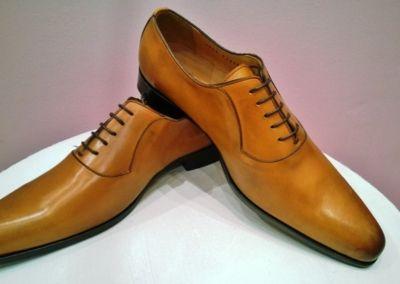 9828 miel - Chaussures personnalisables en cuir - Caralys Nice - Alpes Maritimes (06)
