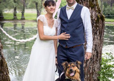 Amandine: Mariage le 3 Juin 2017 avec le modèle Luna.
