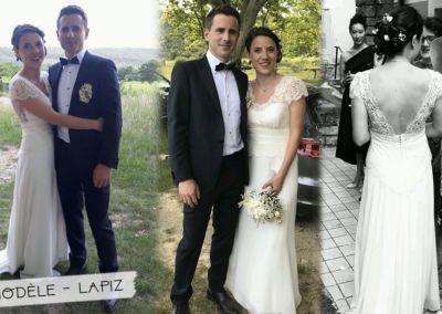 Anaïs: Mariage le 16 juin 2018 avec le modèle Lapiz.
