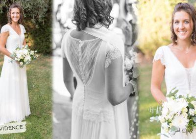 Audrey : Mariage le 16 Septembre 2017 avec la robe Evidence