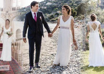 """Camille : Mariage le 16 Juin 2018 avec le modèle Pyrite. """"Encore un grand merci à vous,, c'était une journée vraiment magnifique."""""""