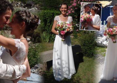 Delphine: Mariage le 10 Juin 2017 avec le modèle Luna.
