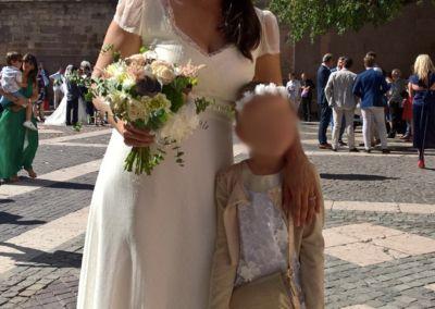 """Djalilia: Mariage le 9 juin 2018 avec le modèle Jais. Bonjour, nous avons eu un super temps et les invités ont adoré la robe ... Mon mari l'a trouvée magnifique... encore merci pour tout. """" Djalila"""