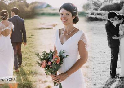 """Elise : Mariage le 21 Juillet 2018 avec le modèle New York. """"Encore merci pour tout, la robe a fait sensation! J'ai été enchantée de faire appel à vous."""" Elise"""