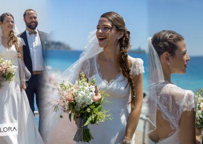 Hélène: Mariage le 16 Juin 2018 avec le modèle Flora.