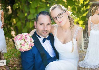 Isabelle : mariage le 2 Septembre 2017 avec la robe Ody.
