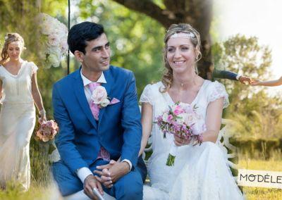Mariage le 3 Juin 2017 avec le modèle Ecume.