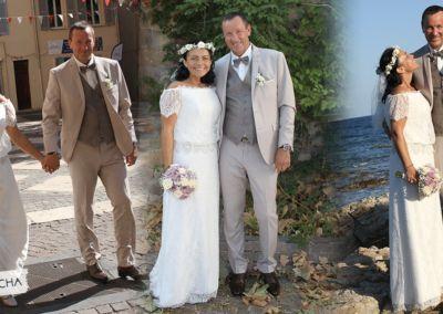 """Tatjana: Mariage le 28 Août 2018 avec le modèle Sacha. """"Et voilà, notre mariage tant attendu qui a généré tant de stress et de préparations, est maintenant passé."""