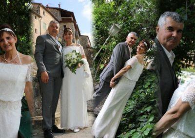 """Virginie: Mariage le 4 Juin 2016 à St Jeannet avec le modèle Sacha. """"Ma robe a fait impression ! La météo à été avec nous. Nous avons passé une très belle journée. Merci pour vos précieux conseils""""."""