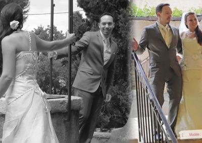 Agnes : Mariage le 18 Mai 2013 à Antibes avec le modèle Eden. « La journée fut très belle. La robe a plu, j'ai eu beaucoup de compliments, elle a été très agréable à porter. Les essayages ont été très agréables. Gabriella, merci d'avoir été à notre écoute. Agnès »