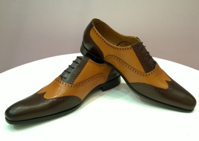 miel-marron - Chaussures personnalisables en cuir - Caralys Nice - Alpes Maritimes (06)