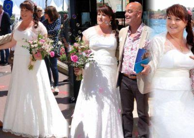 Carine: Mariage le 16 Mai 2015 à Cannes avec le modèle Victoria