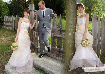 Carlotta : Mariage en Mai 2012 à Bologne (Italie) avec le modèle Aurore : « il matrimonio è andato benissimo,e tutti mi hanno fatto grandi complimenti.. per lo stupendo vestito..mi sentivo in una favola.. »