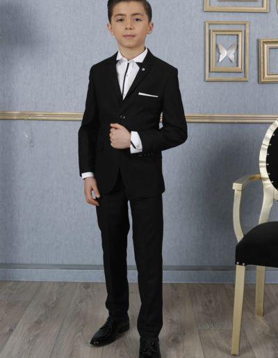 Costume 2 pièces noir pour mariage et cérémonie - Caralys Nice - Alpes Maritimes (06)