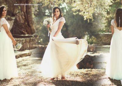 Marie – Mariage le 11 Juillet 2014 à Nice avec le modèle Valentina Chère Gabriella, nous avons passé une journée incroyable!!! Ma robe a été un vrai bonheur à porter, elle était parfaite! Merci encore pour tout!!!! Marie M.