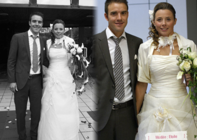 Morgane (St Jeannet) : Mariage le 27 Octobre 2012 en Normandie avec le modèle Etoile crème.