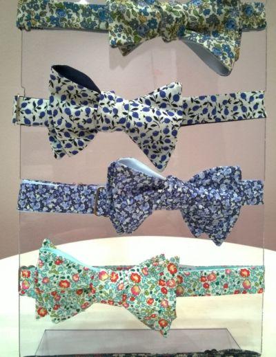 Noeuds papillons fantaisie  - réalisables dans 300 coloris - Caralys Nice - Alpes Maritimes (06)