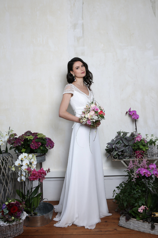 Robe de mariée rétro Opéra Elsa Gary