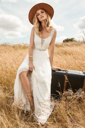 Robe de mariée bohème First Marylise