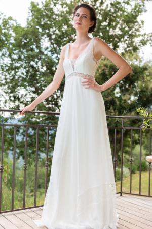 Robe de mariée bohème Isabella Marylise
