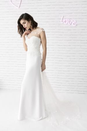 Robe de mariée bohème Rémy Marylise