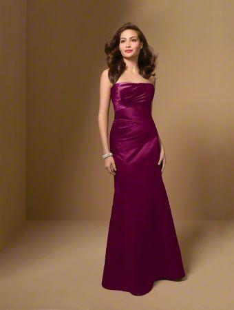 Robe de soirée et robe de demoiselle d'honneur en taffetas - réalisable en 20 coloris sur commande - Caralys Nice - Alpes Maritimes