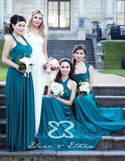 Cortège de demoiselles d'honneur - Robe de soirée et de demoiselle d'honneur - Caralys Nice - Alpes Maritimes (06)