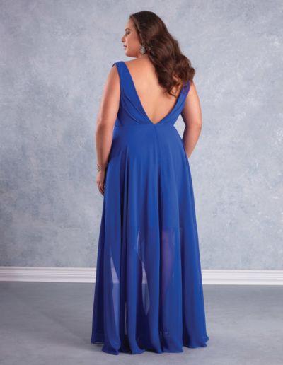 Robe de cocktail, gala et demoiselle d'honneur - réalisable sur commande dans 50 coloris