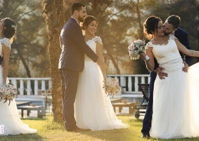 """Alicia : mariage le 13 Juillet avec la robe Perrine. """"Bonjour Gabriella, J'ai passé un mariage de rêve et ma robe n'a jamais été si belle que ce jour là !! Tout le monde l'a adorée ! Merci encore pour votre accueil, vos conseils et votre gentillesse. Je n'oublierai jamais ces moments d'essayages chargés en émotion. A très bientôt. Alicia"""""""