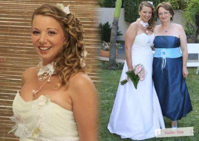 Roselyne d'Antibes : Mariage le 17 Août 2012 sur l'Ile Maurice avec le modèle Elisa.