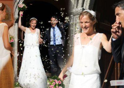 Sabrina : Mariage le 30 Août 2014 avec le modèle Gaby et le top Constance.