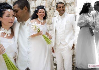 Sandra : Mariage le 18 Juillet 2013 à La Gaude avec le modèle Musicienne.