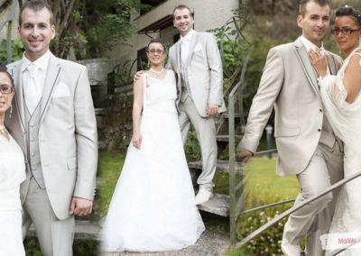 Sandra : Mariage le 22 Août 2014 à Peille avec le Modèle Gaby et Top Mélusine à Nice.
