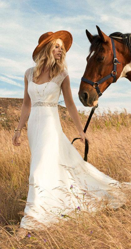 Robe de mariée bohème chic - Caraly NIce 06 PACA