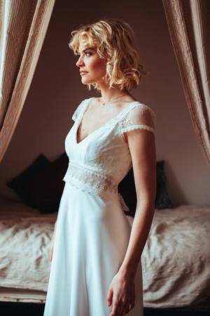 Robe de mariée bohème CharlotteELSA GARY - Caralys Nice
