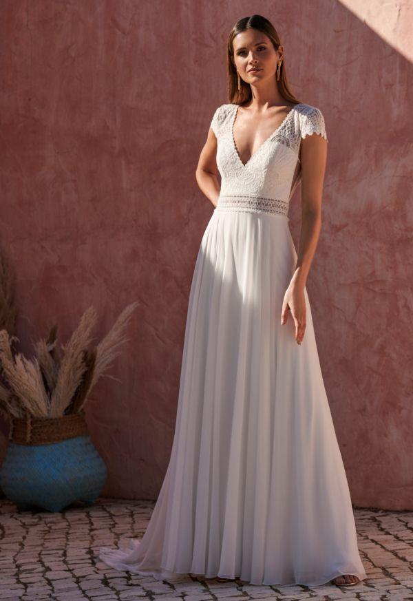 Robe de mariée bohème Just Chilling dos V Marylise
