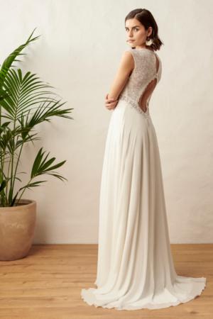 Robe de mariée bohème Happy Human Marylise