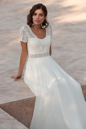Robe de mariée bohème Blue Velvet Marylise