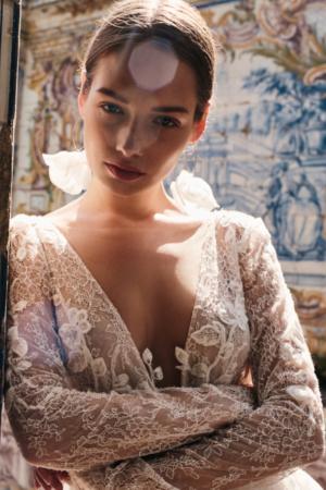 Robe de mariée bohème Jude Anna Kara